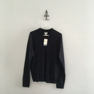 Dockers Navy Blue V-neck Pullover Sweater Size S